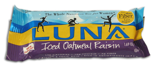 Luna Iced Oatmeal Raisin
