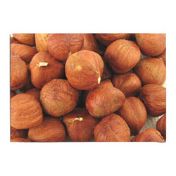 Hazelnuts, Raw, Shelled