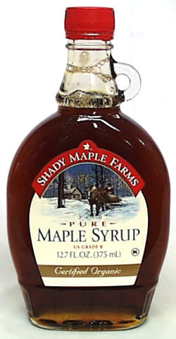 Maple Syrup Grade B, Organic