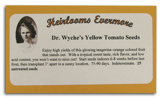 Dr. Wyche's Yellow Tomato Seeds