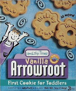 HT Arrowroot Vanilla Cookies, Org