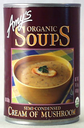 Cream of Mushroom Soup, Organic