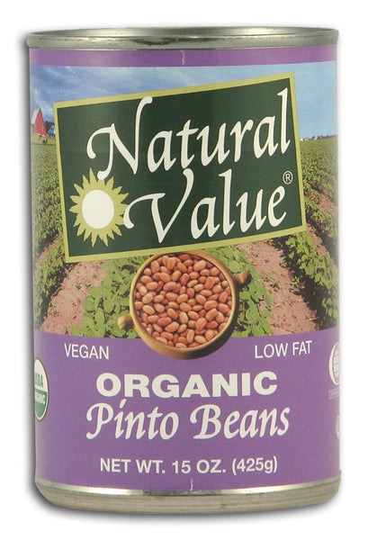 Pinto Beans, Organic - Canned