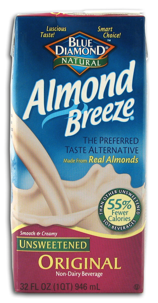 Almond Breeze, Unsweetened Orig
