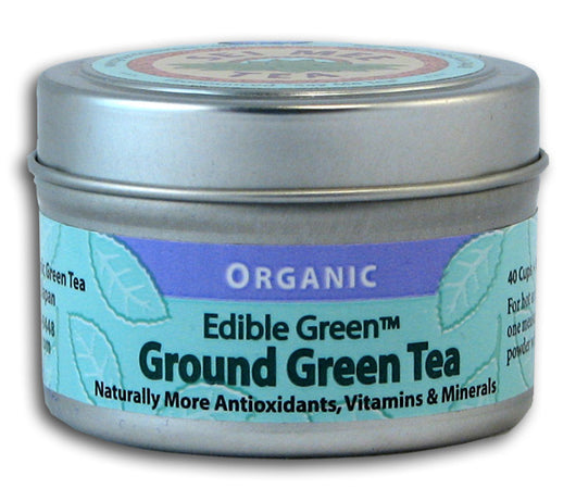 Ground Green Tea, Organic (40 cups)