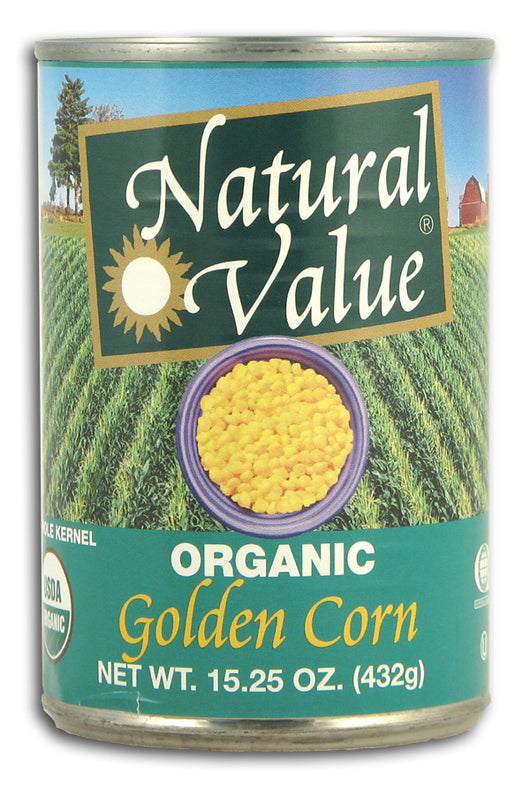 Golden Corn, Whole Kernel, Organic