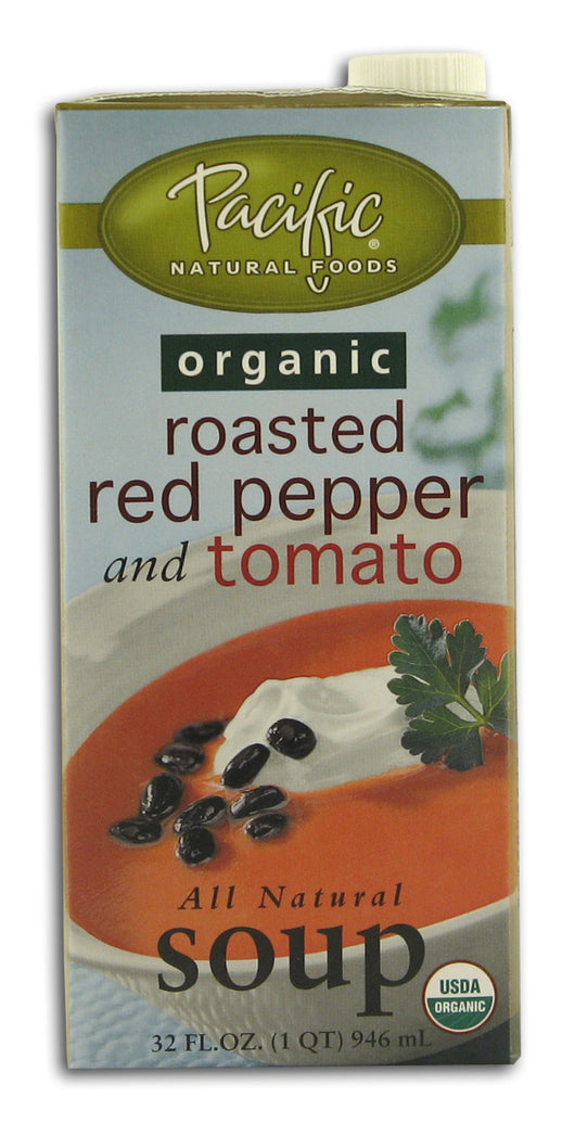 Roasted Red Pepper & Tomato Soup, Or