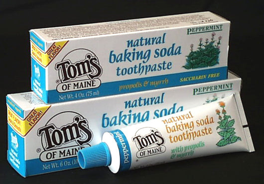 Peppermint Soda Toothpaste