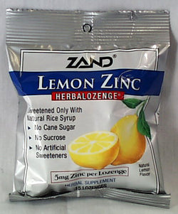 Lemon Zinc Lozenges