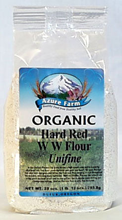 Hard Red W.W. Flour, Org (Unifine)