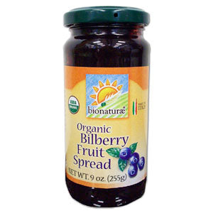Bilberry Fruit Spread, Organic