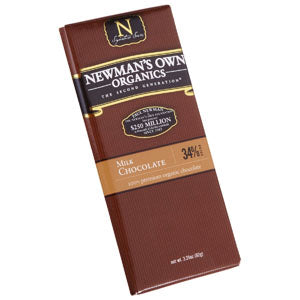 Milk Chocolate Bar, Organic