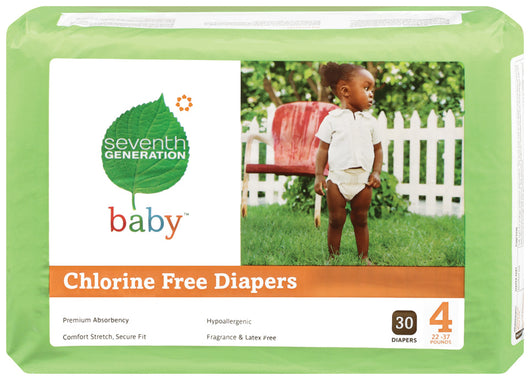 Baby Diapers, Stage 4 (22-37 lbs)