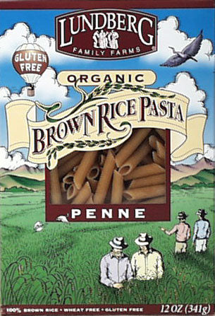 Brown Rice Penne Pasta, Organic