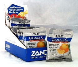 Vitamin C Lozenges (Orange)