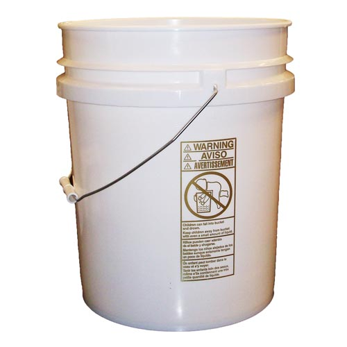 Empty 5 Gallon Plastic Pail/Bucket