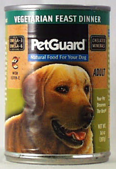 PetGuard Vegy Feast Dinner, Adult