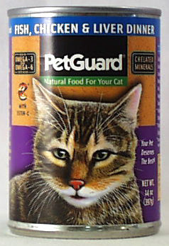 PetGuard Fish,Chicken & Liver Dinner