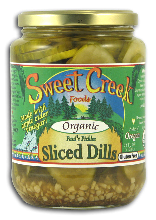 Paul's Pickles, Sliced Dills, Organi