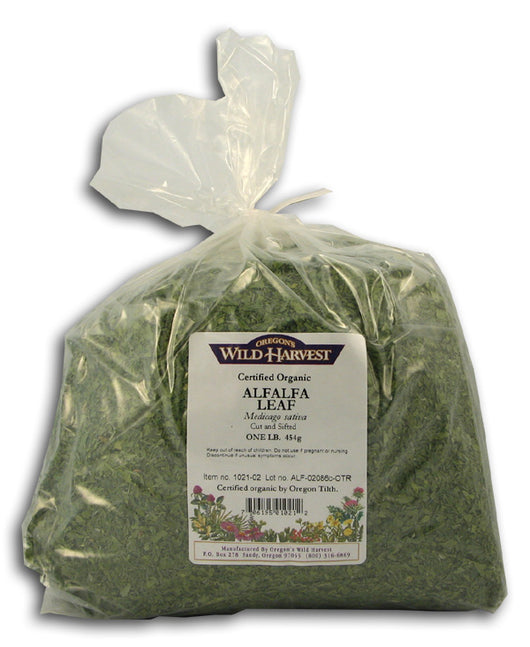 Alfalfa Leaves, Organic