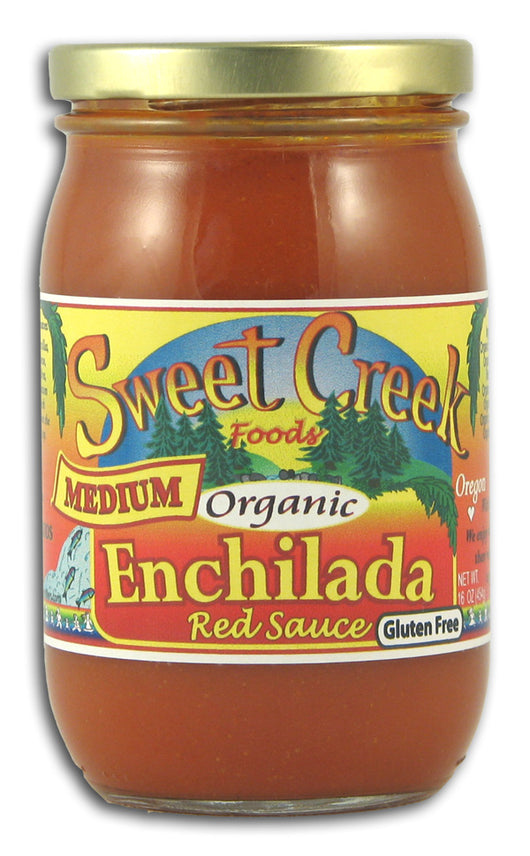 Enchilada Red Sauce, Medium, Organic