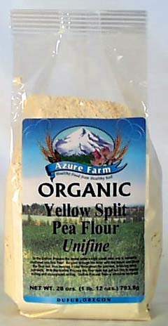 Azure Farm Yellow Split Pea Flour, O