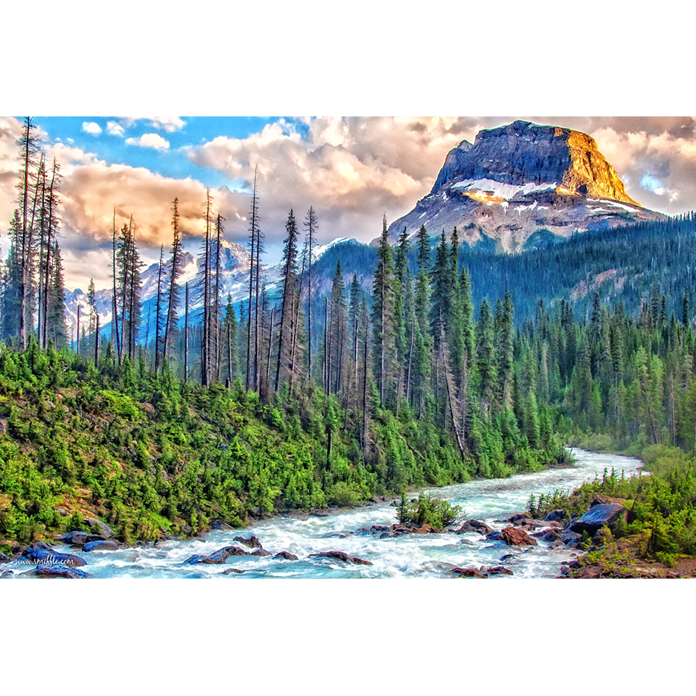Canada, Yoho National Park, British Columbia - MOU010