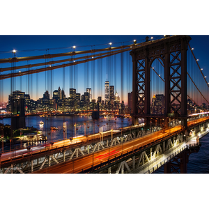 Brooklyn Bridge & Manhattan - NY012