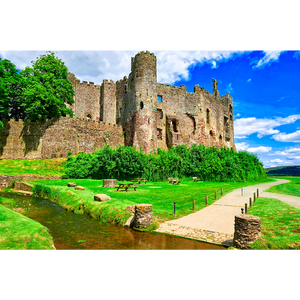 Laugharne Castle - WAL033