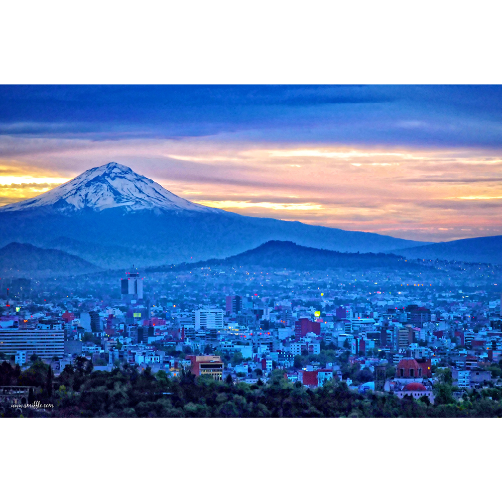 Mexico, Popocatépetl, Mexico City - MOU035