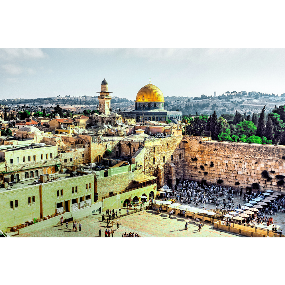Jerusalem, The Dome of the Rock and the Western Wall - ISR036