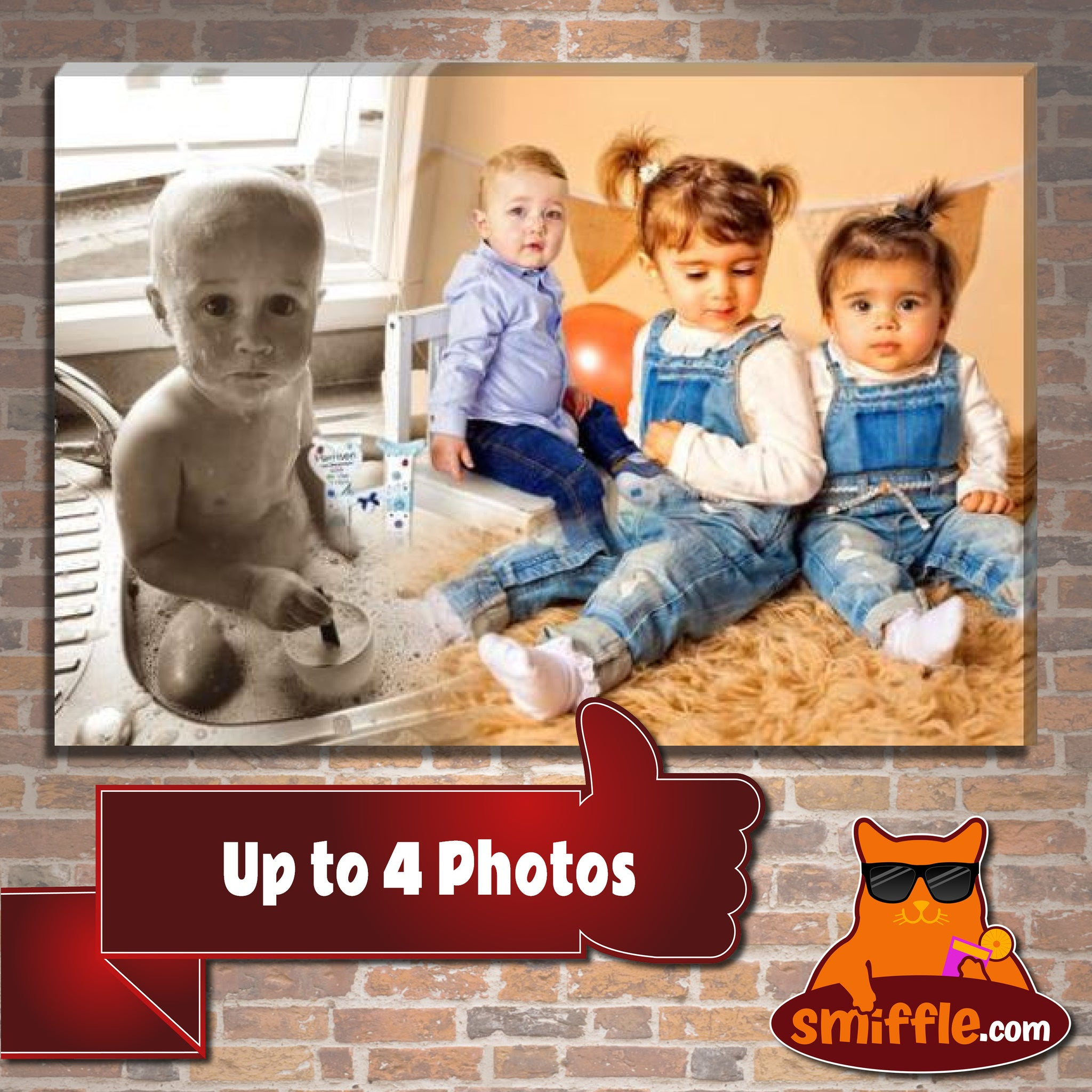 Up to 4 Photos - PURR9994