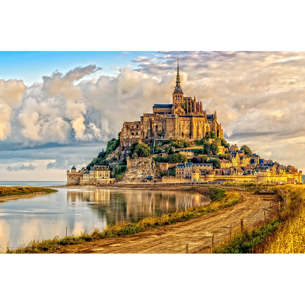 Mont Saint-Michel, Normandy - FRA045