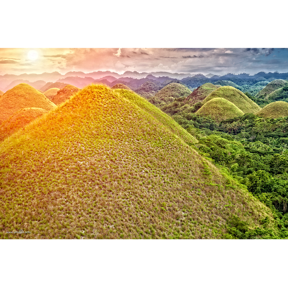 Philippines, Chocolate Hills, Bohol - MOU048