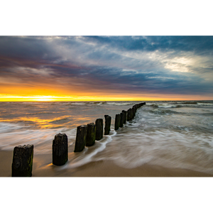 Baltic Coastline sunset - POL004