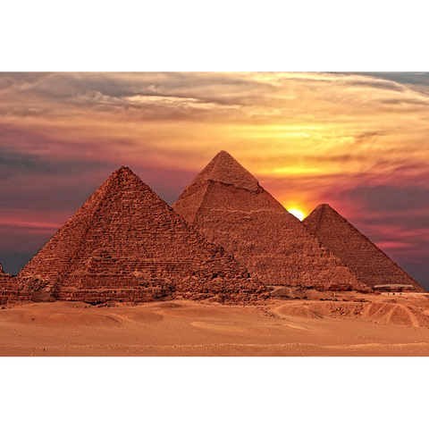 Egypt, Great Pyramids of Giza - AFR005
