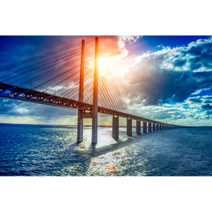 Sweden, Oresund Bridge, Malmo - SCA071