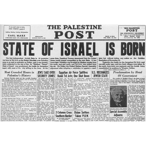 A nation is born in a day - ISR072