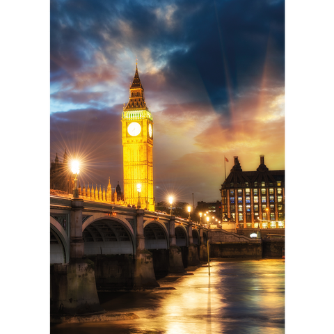 Big Ben & Westminster Bridge - LON077