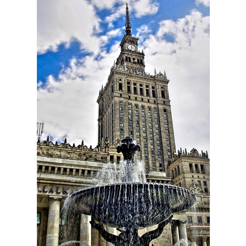 Warsaw, Palace of Culture & Science - POL077