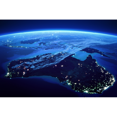 Australia, from space - AUS080