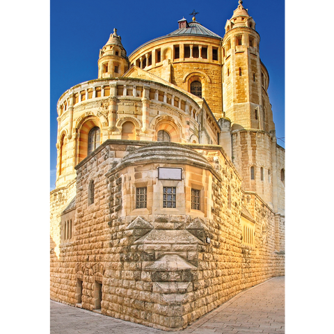 Jerusalem, Dormition Abbey, Mount Zion - ISR081