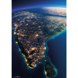 India from space - IND082