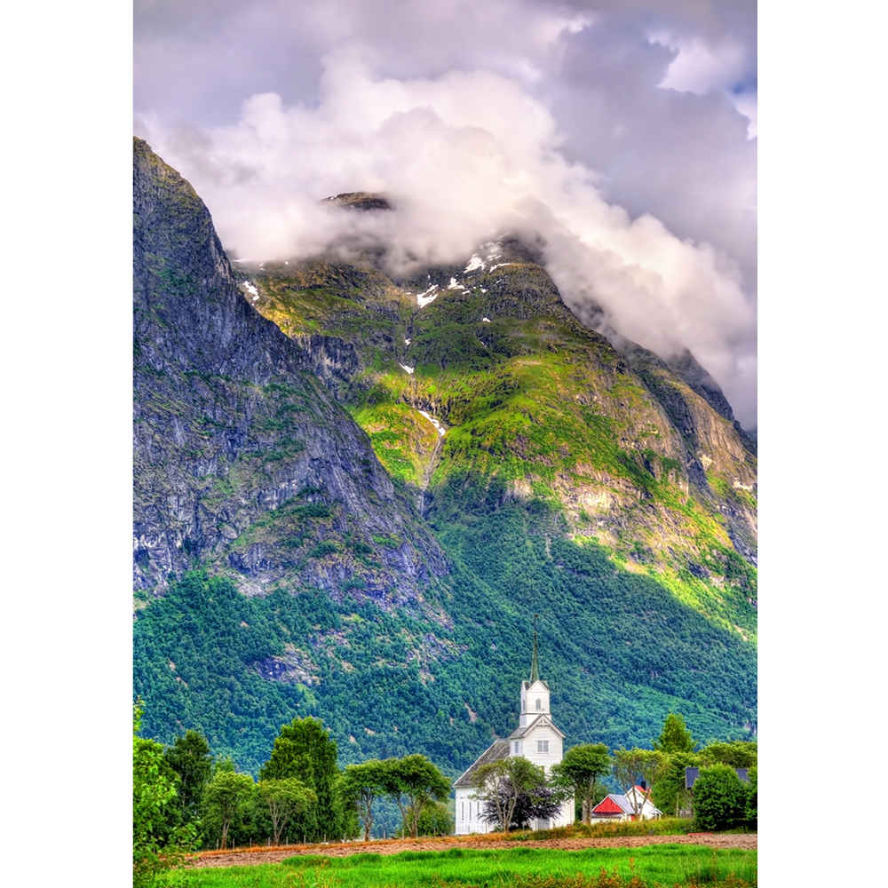 Norway, Oppstryn Church - SCA088