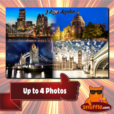 Up to 4 Photos - Poster