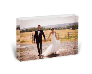 1 Photo - Acrylic Photo Block