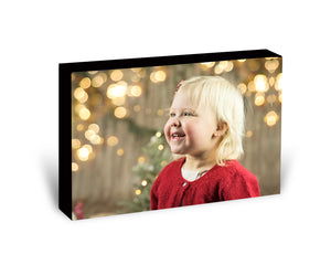1 Photo - Wooden Photo Block
