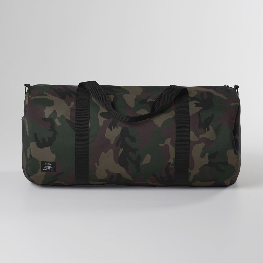 CAMO AREA DUFFEL BAG