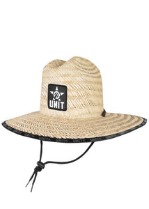 UNIT CASUAL HEADWEAR COMMANDER NATURAL STRAW HAT