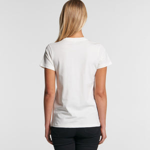 WOMENS MAPLE ORGANIC TEE